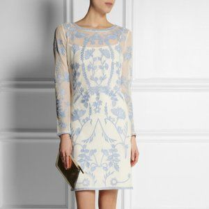 ALICE by Temperley Clover embroidered dress